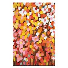 Mixed Oranges by Anna Blatman Art Print on Canvas