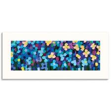 Leelee Blue Wall Art by Anna Blatman