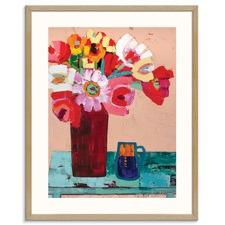 Amanda's Blooms Printed Wall Art