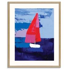 Boating Printed Wall Art