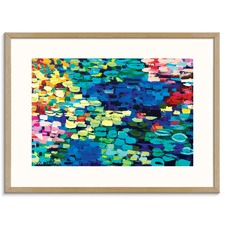 Floating Lilies Printed Wall Art