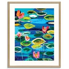 Nina's Lilies Printed Wall Art