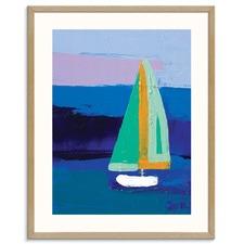 Sailing Printed Wall Art