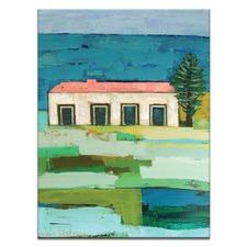 Anna Blatman Beachside Stretched Canvas