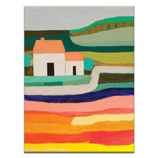 Anna Blatman Country House Stretched Canvas