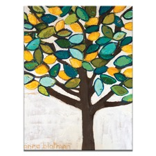 Lemon Tree Stretched Canvas