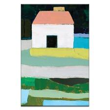 Anna Blatman Single Farm House Stretched Canvas