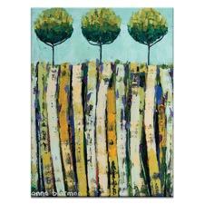 Summer Trees by Anna Blatman Wall Art