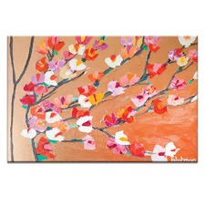 Orange Magnolia by Anna Blatman Wall Art