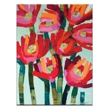 Flowers by Anna Blatman Wall Art