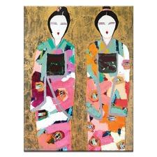 Gold Geisha by Anna Blatman Wall Art