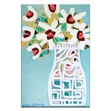 White Pattern by Anna Blatman Wall Art