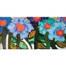 Blue Magnolia Wall Art