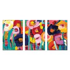 Anna Blatman Joletta Triptych Art by Anna Blatman