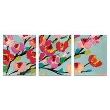 Anna Blatman Louise Triptych Art by Anna Blatman