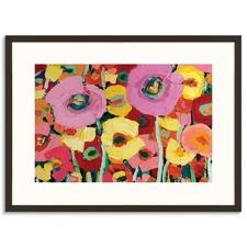 Pair Poppy II Framed Wall Art