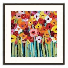 Julies Blooms Framed Wall Art