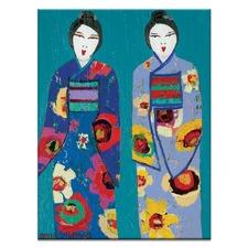 Anna & Kushki Printed Wall Art by Anna Blatman
