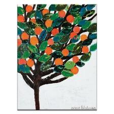 Orange Galore Printed Wall Art by Anna Blatman