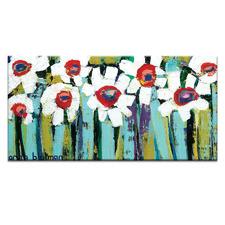 Blooms Canvas Wall Art by Anna Blatman
