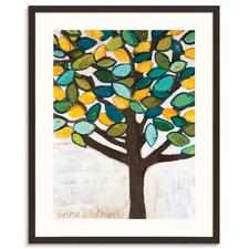 Lemon Tree Framed Wall Art by Anna Blatman