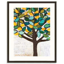 Lemon Tree Framed Wall Art