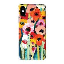 Rainbow Garden iPhone Case by Anna Blatman