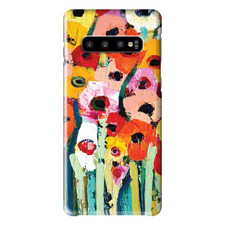 Rainbow Garden Samsung Phone Case by Anna Blatman