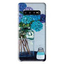 Daile's Hydrangeas Samsung Phone Case by Anna Blatman