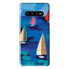 Adrian's Regatta Samsung Phone Case by Anna Blatman