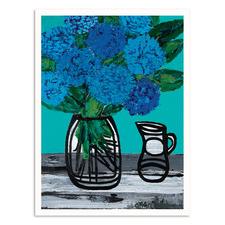 Tui Hydrangea Printed Wall Art by Anna Blatman