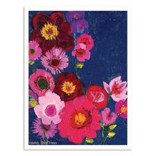 Tui Floral Printed Wall Art by Anna Blatman