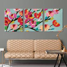 Louise Triptych Wall Art