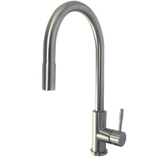 Carrara Kitchen Mixer with Pull Out Nozzle