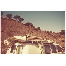 Malibu Surf Van Printed Wall Art
