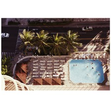 Waikiki Pool Printed Wall Art