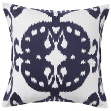 Blue Mollymook Cotton Cushion