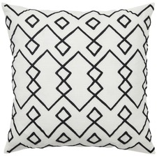 Black Malawi Cotton Cushion