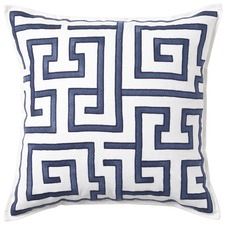 Blue Maine Cotton Cushion