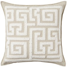 Cream Rodas Cotton Cushion
