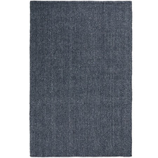 Navy Logan Hand-Woven Rug