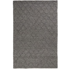 Grey Mitre Hand-Woven Rug