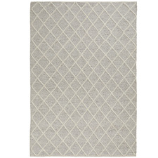 Silver Mitre Hand-Woven Rug