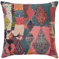 Multi-Coloured Joplin Velvet Cushion