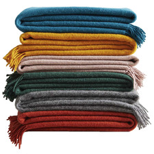 Nevis Lambswool Throw