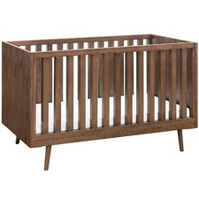 Walnut Nifty Timber Cot