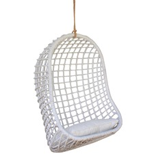 White Laluna Hanging Chair