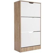 Kian 3 Drawer Shoe Cabinet