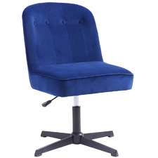 Moira Velvet Office Chair