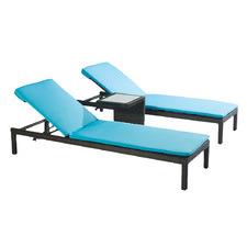 Arthur PE Rattan Sun Lounge Set